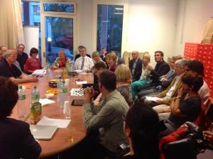 Consultation avec les partis politiques (28 août 2013)